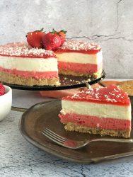 Cheesecake Aardbeien