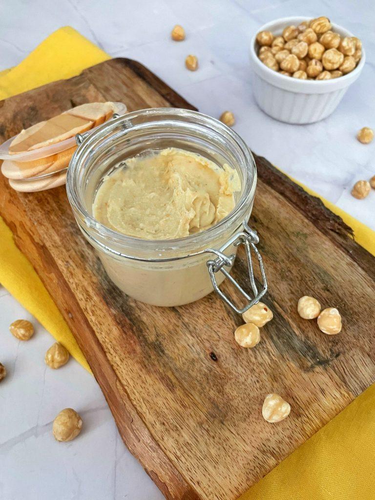 Witte Nutella Hazelnootpasta