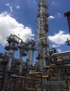 Vepica-designed refinery.