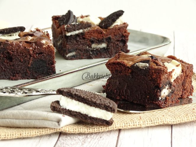 Double Cream Oreo Brownies