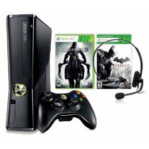 Microsoft Xbox 360 - Consola 250 Gb + Darksiders 2 + Batman Arkham City + Live 1 Mes_bakoneth