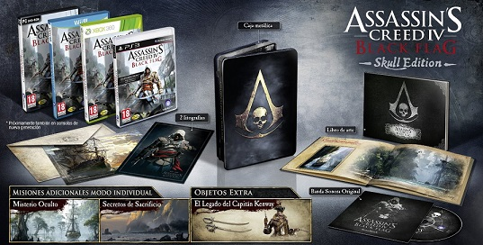 Assassin's Creed 4 Black Flag Edición Coleccionista