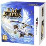 Kid Icarus Uprising+soporte especial + sobre con 6 tarjetas realidad aumentada bakoneth