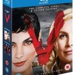V- El Pack Serie completa Temporadas 1 y 2 Blu-ray CASTELLANO confirmado