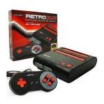 Consola Retro Duo Snes-Nes, Color Rojo/Negro + 2 Mandos