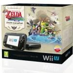 Nintendo Wii U – Pack Premium – 32 GB – Incluye Zelda Wind Waker HD y Zelda GamePad por 290€