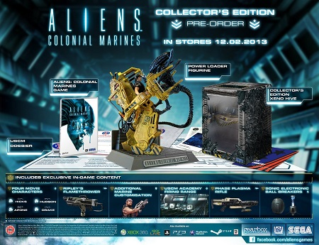 Aliens Colonial Marines - Collectors Edition