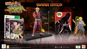Naruto Shippuden Ultimate Ninja Storm Revolution Samurai Collector Edition