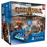 PlayStation Vita Consola + God Of War Collection + Tarjeta 8 GB