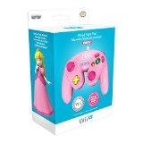 Mando Fight Pad Con Cable, Diseño De Peach (Wii U)
