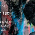 Amazon Music Unlimited SIN anuncios