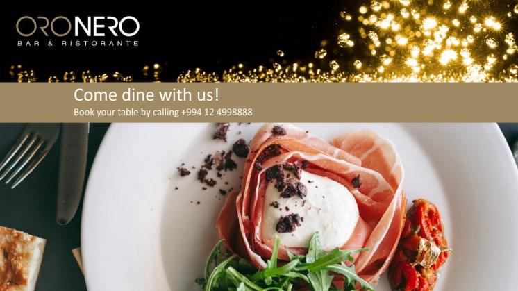 OroNero Bar & Ristorante is now open!