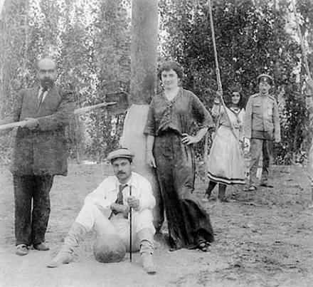 Maria Nikolayeva et Shamsi Asadullayev