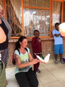 Sannes balloon animals where a big hit