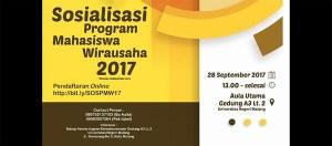 Program Mahasiswa Wirausaha (PMW) 2017