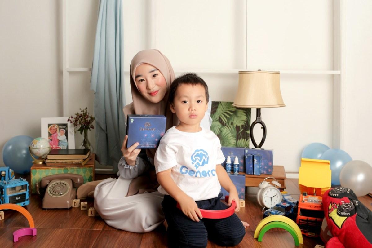 Generos Vitamin Otak untuk Anak Atasi Speech Delay