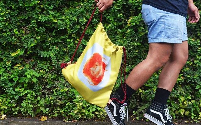 Drawstring Bag Fast and Foodrious
