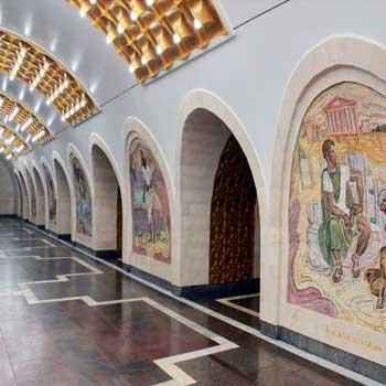 Nizami metro station
