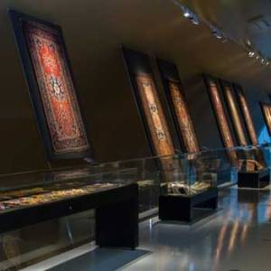 Azerbaijan Carpet Museum. Carpet Museum In Baku, Azerbaijan