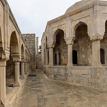 Divankhana. Shirvanshahs palace. Baku, Azerbaijan