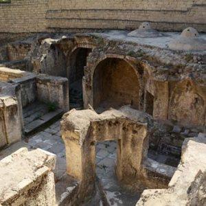 Shirvanshahs Palace Bath-house. Hamam In Baku, Azerbaijan