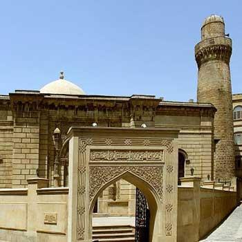 Juma Mosque Baku, Azerbaijan. Friday Mosque Baku