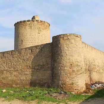Nardaran Tower. Nardaran Castle in Baku, Azerbaijan