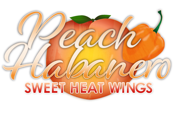 Peach Habanero Wings