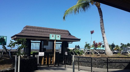 Airport gate, Hawaii style