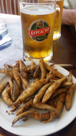 Sprat and beer - perfect cocmbo!
