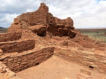 Wupatki National Monument - pueblo ruins