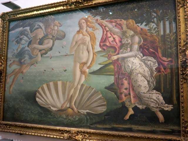 Uffizi - The Birth of Venus (Botticelli, 1482) - innocence