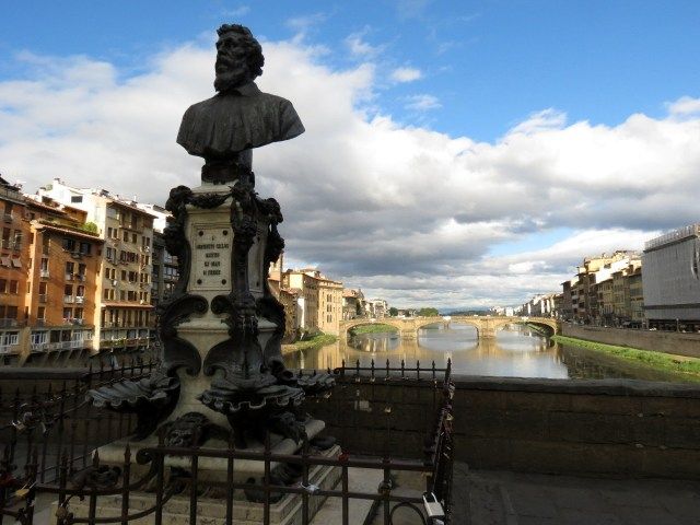 Cellini's statue at Ponte Vecchio