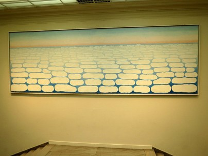 Georgia O'Keefe, Sky Above the Clouds, 1965