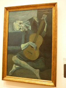 Pablo Picasso, The Old Guitarist, 1903-1904