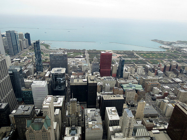 View East from Willis Tower