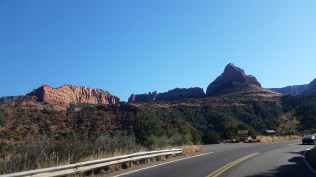 Scenic route to Sedona