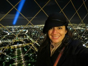 even got the light beam coming off the top of the Eiffel in this one!