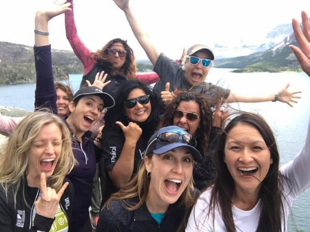 Selfies at St Mary's Lake