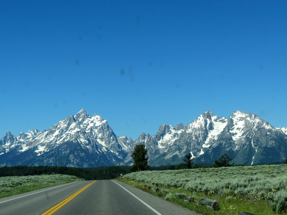 A Scenic Drive in the Tetons