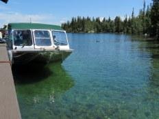 Jenny Lake Boat Dock