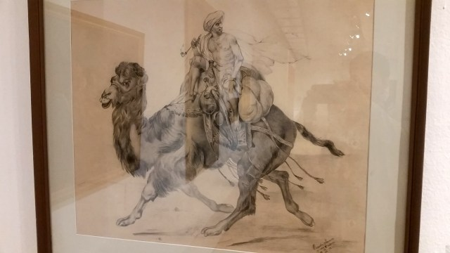 Angel Spasov - Cameleer, 1902, Pencil on Paper