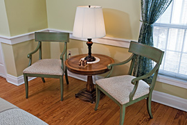 Vines guestroom at the Baladerry Inn, Gettysburg