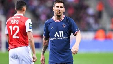 صورة تعليق والد ميسي على ظهور ابنه بقميص باريس سان جيرمان