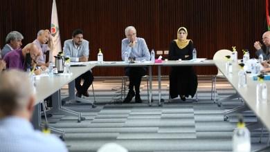 صورة لجنة الانتخابات تجتمع مع ممثلي الفصائل في الضفة الغربية
