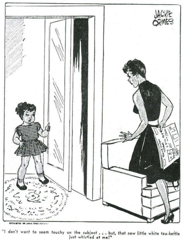 Jackie Ormes, first female African American cartoonist | Full post on Badass Lady Creatives
