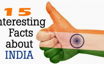top 15 facts of india