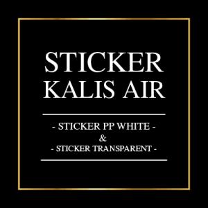 Sticker Kalis Air