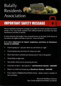 BRA Security Leaflet