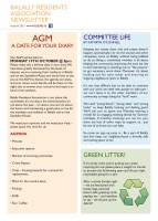 Autumn Newsletter 2